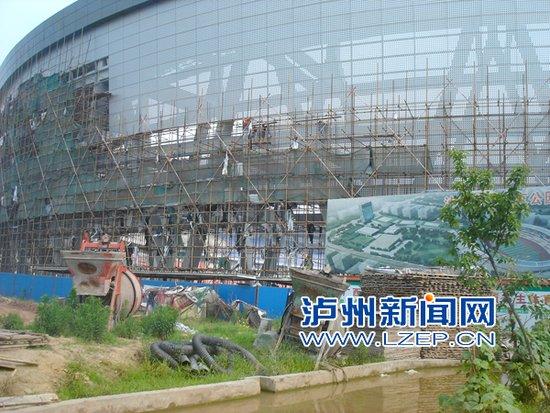 泸州奥体公园 主体育场工程6月底完工