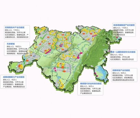 开州西部新区规划图