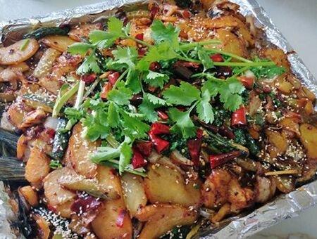 自制家庭版烤鱼 外焦里嫩超鲜美