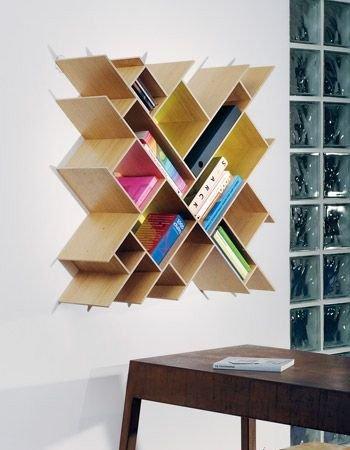 展示性书架的神奇收纳效果 要实用也要潮爆图片