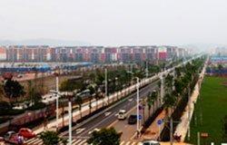 新县城9月底前形成城市基本功能