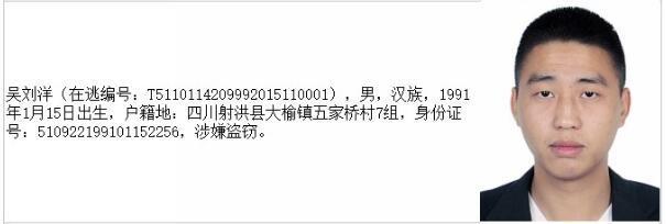 四川公布20名A级逃犯通缉令 看到这些人快报警