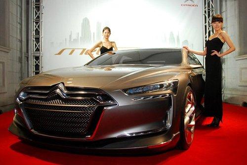 专为中国打造的旗舰车型 雪铁龙ds9旗舰车型即将量产 高清图片