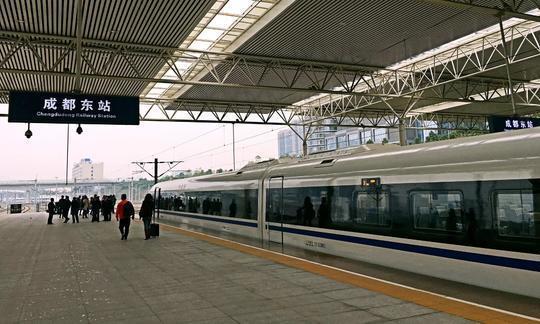 成贵铁路四川段开始静态验收 力争年内开通运营