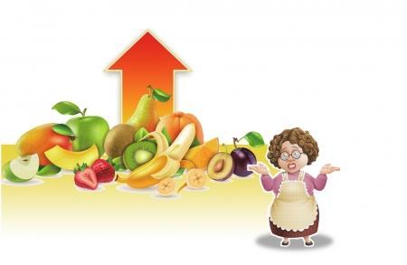 成都当季水果价格普遍上涨 4个枇杷要20元