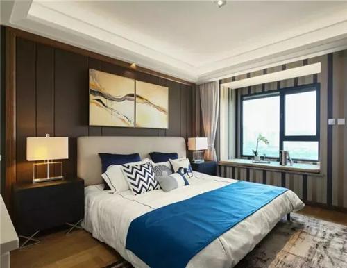 卧室床头背景墙怎么选 这样装睡觉更舒服