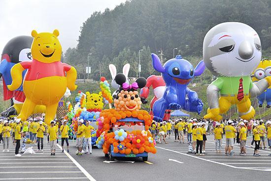 """第二届黑山谷""""高山国际巨型气球节""""8月开幕"""