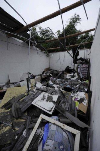 成都一仓库12日下午发生爆炸 震颤10公里(图)