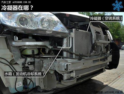 汽车内部结构图解 空调