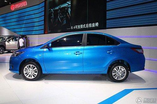丰田全新威驰预售8万元起 将于11月上市