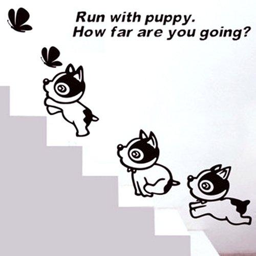 小狗简单手绘图