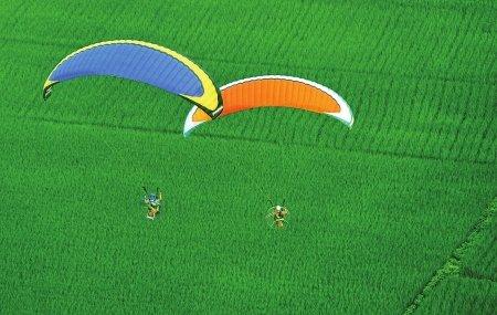 三角翼和滑翔伞
