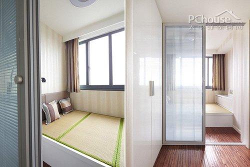 设计一个榻榻米房 设计师解决方案:定制一个榻榻米房,用木工板做