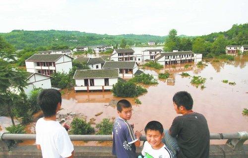 专家称渠江流域强降雨系受副高压控制所致