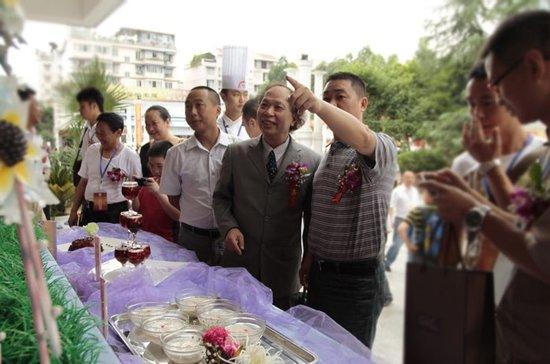 第十一届国际美食艺术大赛在成都新东方举行