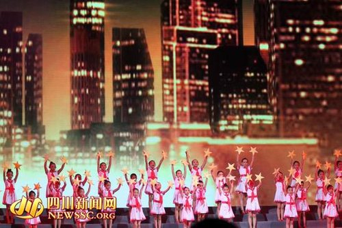 温江:国内首部音乐舞蹈诗《红色少年》唱响中国梦