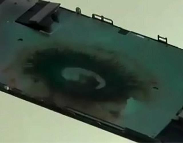 苹果iPhone 7也炸了 维修人员:电池原因