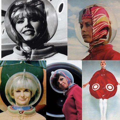 未来主义太空梦想 名模扮宇航员成流行(组图)图片