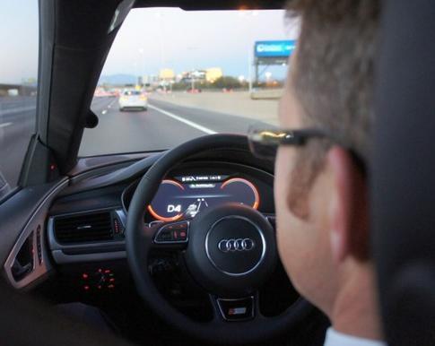量产无人驾驶系统 期待奥迪15年CES带惊喜高清图片