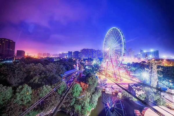 2017年南湖梦幻岛夜场&嬉水乐园启幕 只要78元