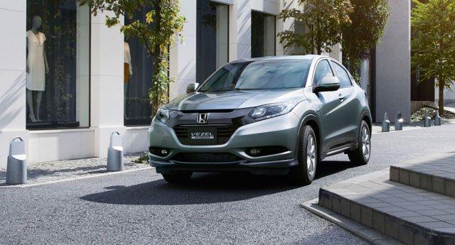 关键词:本田Vezel、小型SUV、日本上市、约合10.8万元起、明年国高清图片