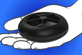 超小只有65克的无人机 自拍或救灾都能行