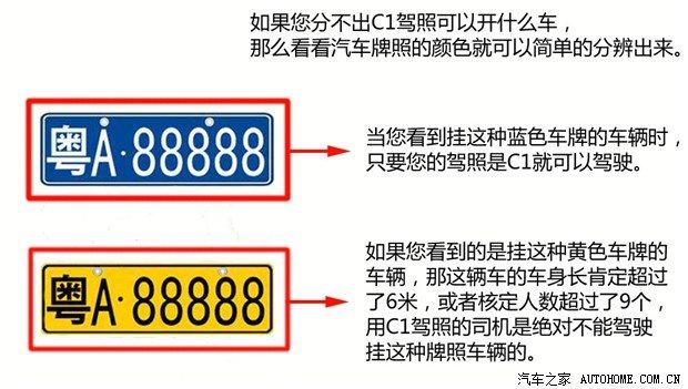 C1可以开9座车 驾照介绍\/部分问题解析