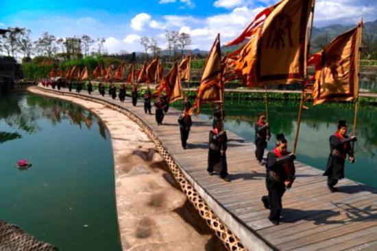 都江堰放水节将于4月2日启幕 九国之水汇聚岷江