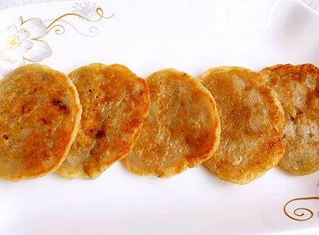 早餐全新选择 香甜可口的香蕉鸡蛋饼