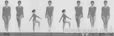 第八套广播体操分解动作图解(全部八节)[组图]