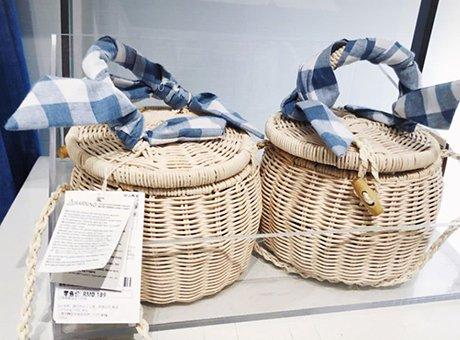 这个品牌一口气出了20款编织包 也太适合夏天了吧