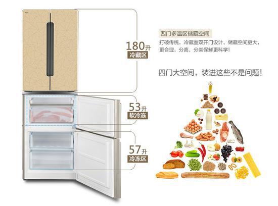 tcl bcd-290bz1冰箱内部结构