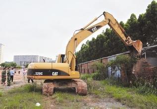 常德河洑镇26处违法建筑被依法拆除