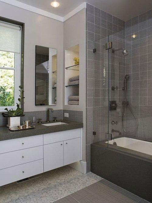时尚创意的小浴室设计