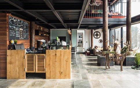 新设计咖啡店