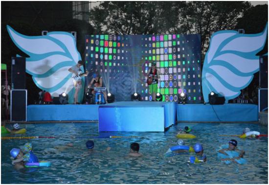 三一翡翠湾800㎡中心泳池盛大开放