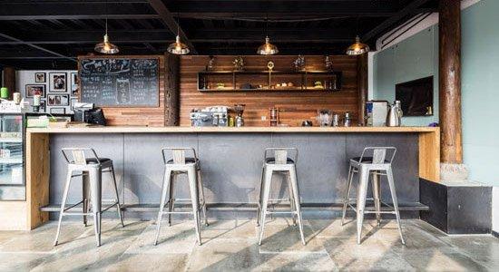 旧建筑重获新生 咖啡馆混搭新设计