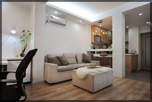 一室一厅简约风格家居图赏析 你心里的40平 图