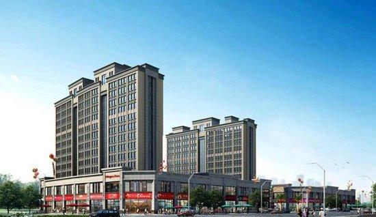 首个精装修公寓双子国际 落户火车站商圈