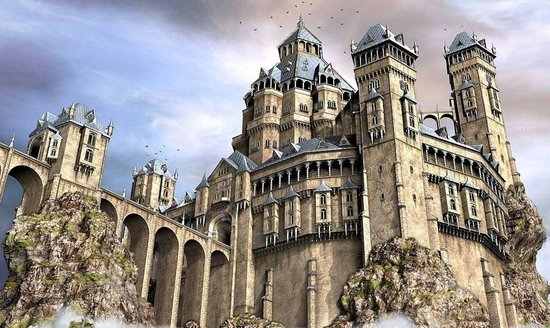 欧洲人为什么喜欢建城堡图片