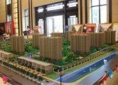 新城香溢澜桥高层项目沙盘