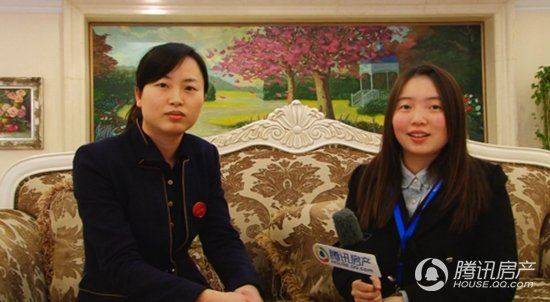 专访绿都万和城销售经理 赵雪琴