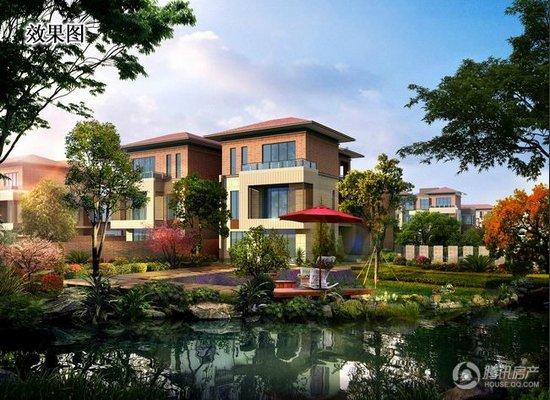 西太湖收藏级别墅星河别墅丹堤和墅正式开启认筹赤水专利树上图片