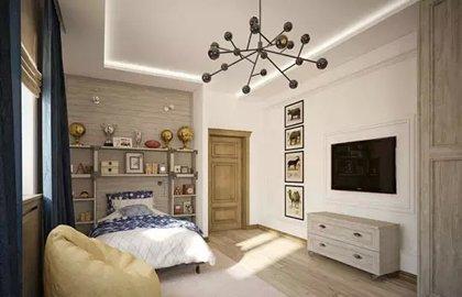 床头背景墙设计