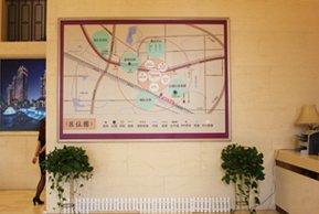 港龙紫荆城售楼处区位图