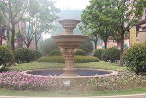 九洲花园缇香郡售楼处景观喷泉