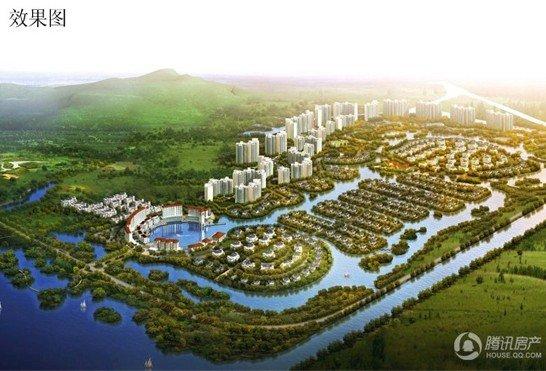 常州的豪宅区——太湖区域; 太湖庄园效果图;; 万泽·太湖