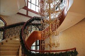 九龙仓售楼处楼梯