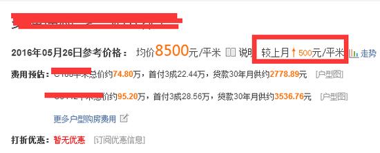 新北某刚需盘月涨500元/平!常州房价疯涨?