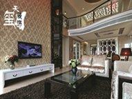 天玺装饰:复式300�O・时尚新古典・御城